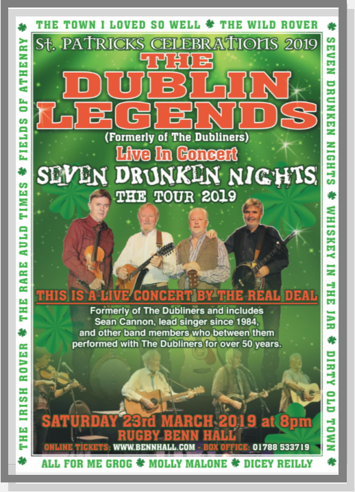 Dublin Legends, Folk, Live, Show, Music, Dubliners