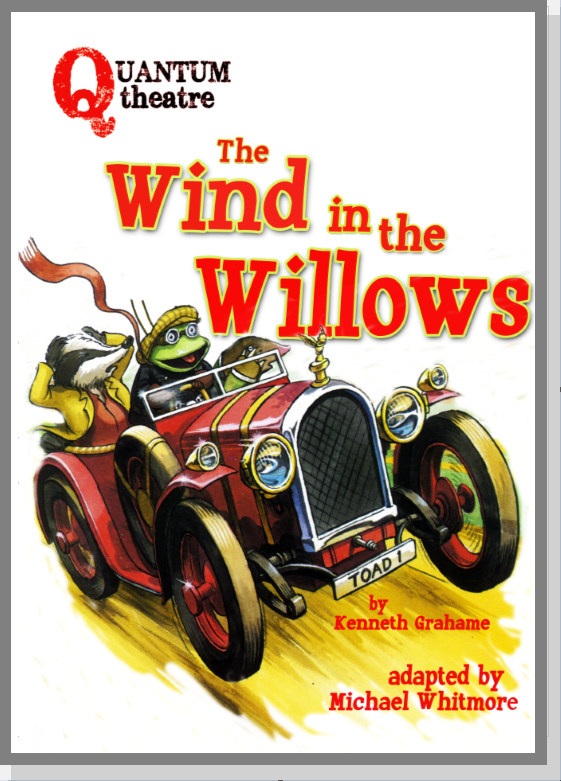 Wind in the Willows, theatre, performance, live