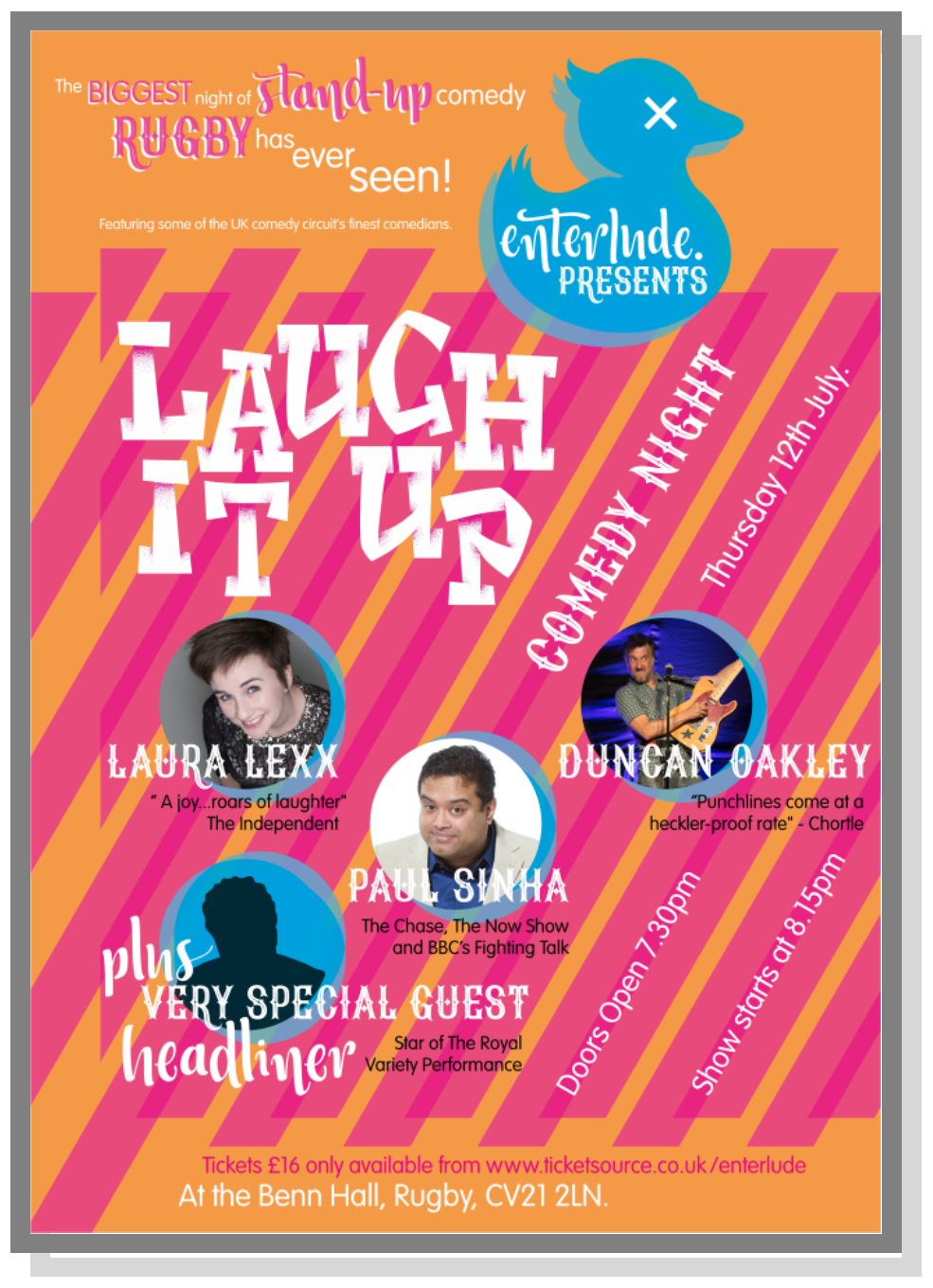 Comedy Night, Laugh it up