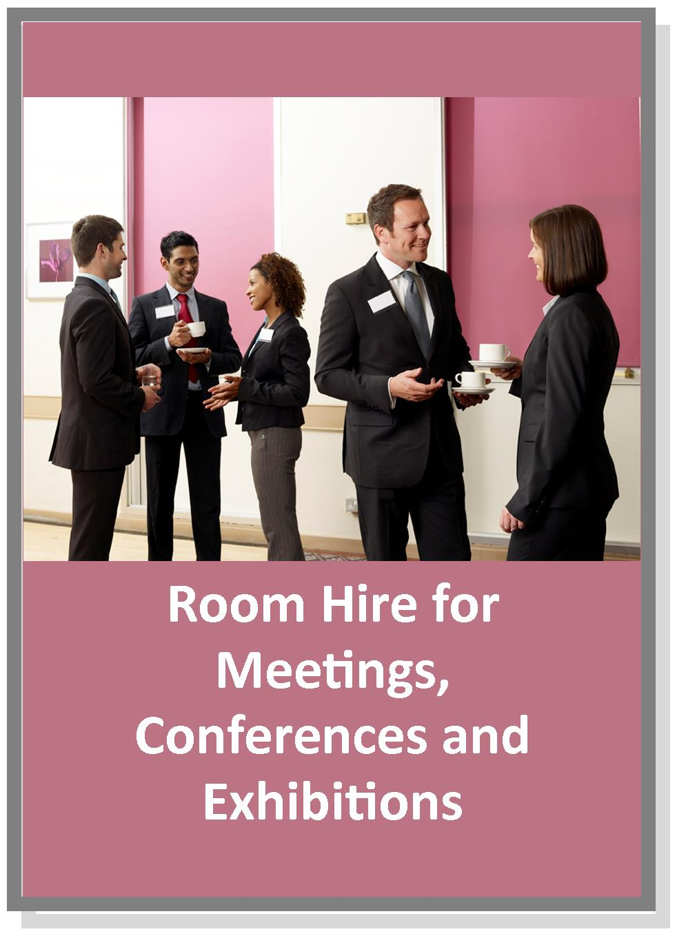 Meeting, conference, exhibitions, venue