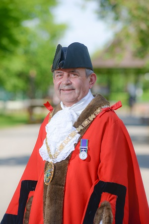 Cllr Tom Mahoney Mayor of Rugby