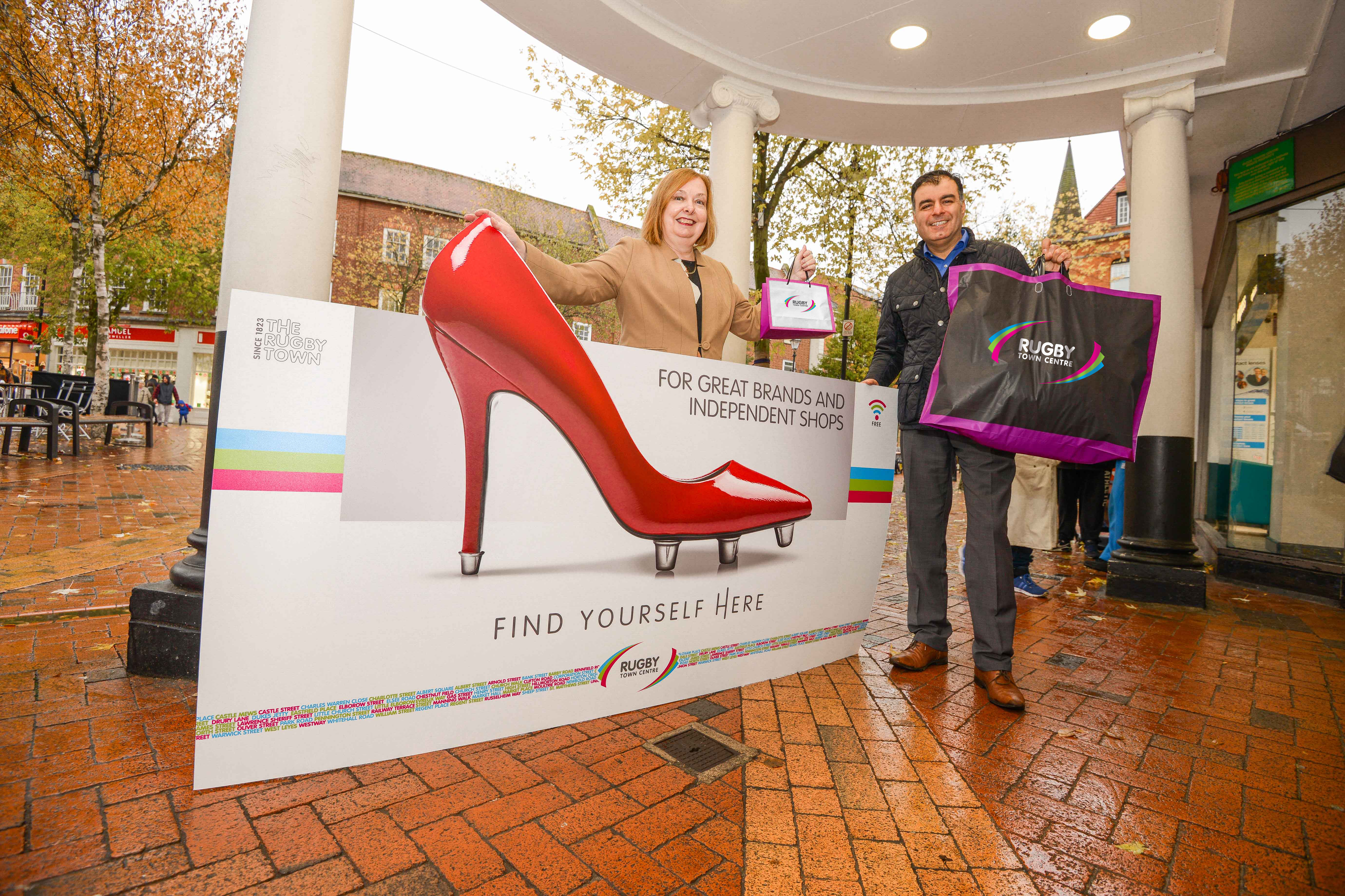 New promotional brand for Rugby town centre