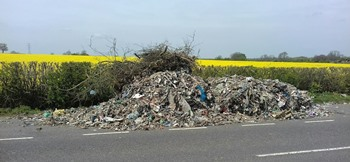 Fosse Way fly-tip