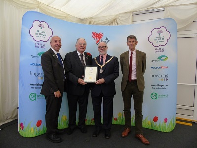 Heart of England in Bloom Award