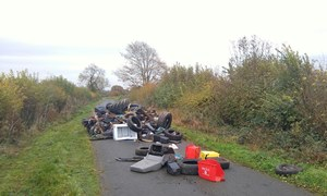 Penn Lane fly-tip