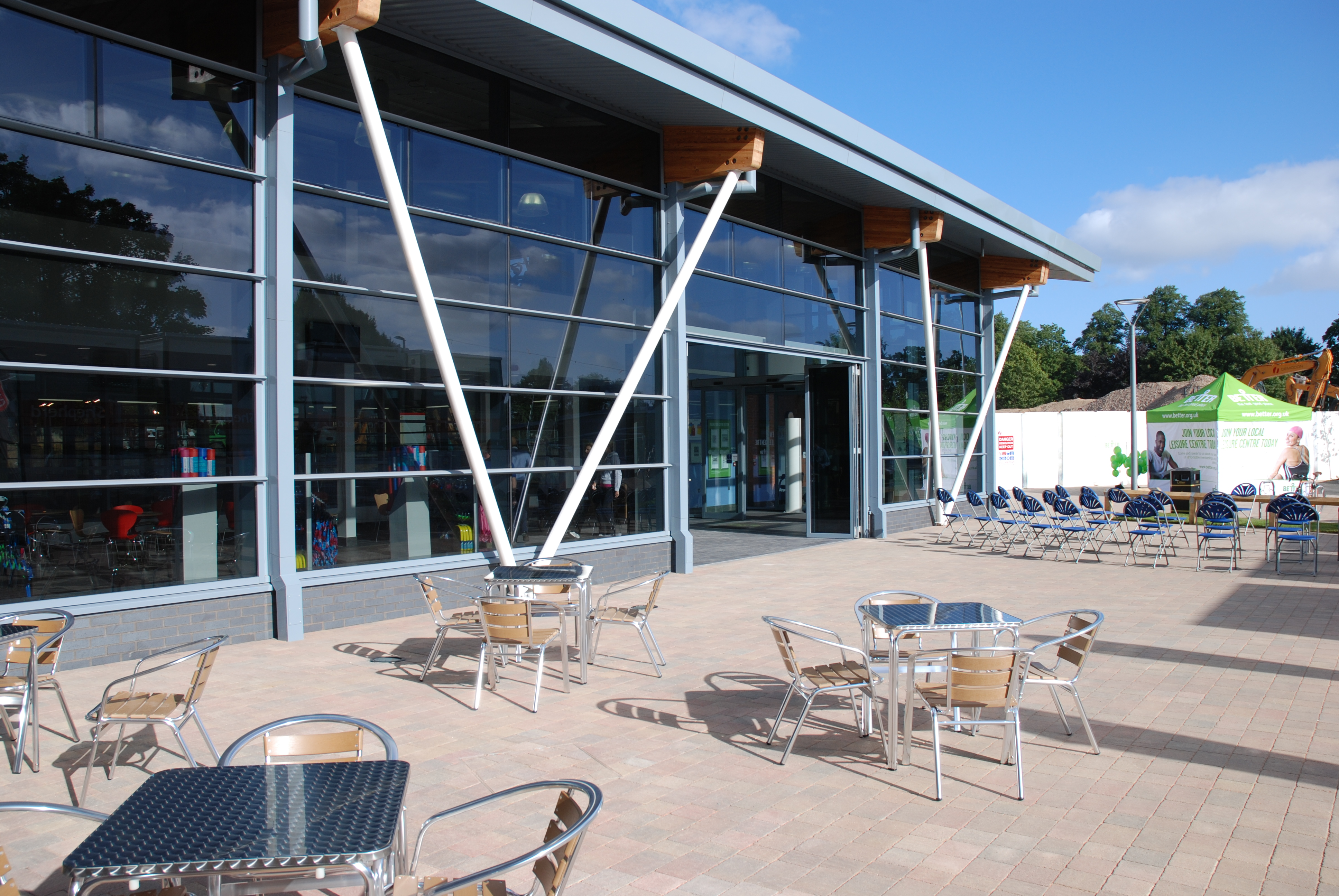 The Queen's Diamond Jubilee centre on its opening weekend