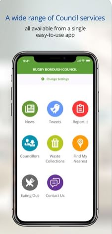 The Rugby Borough Council App